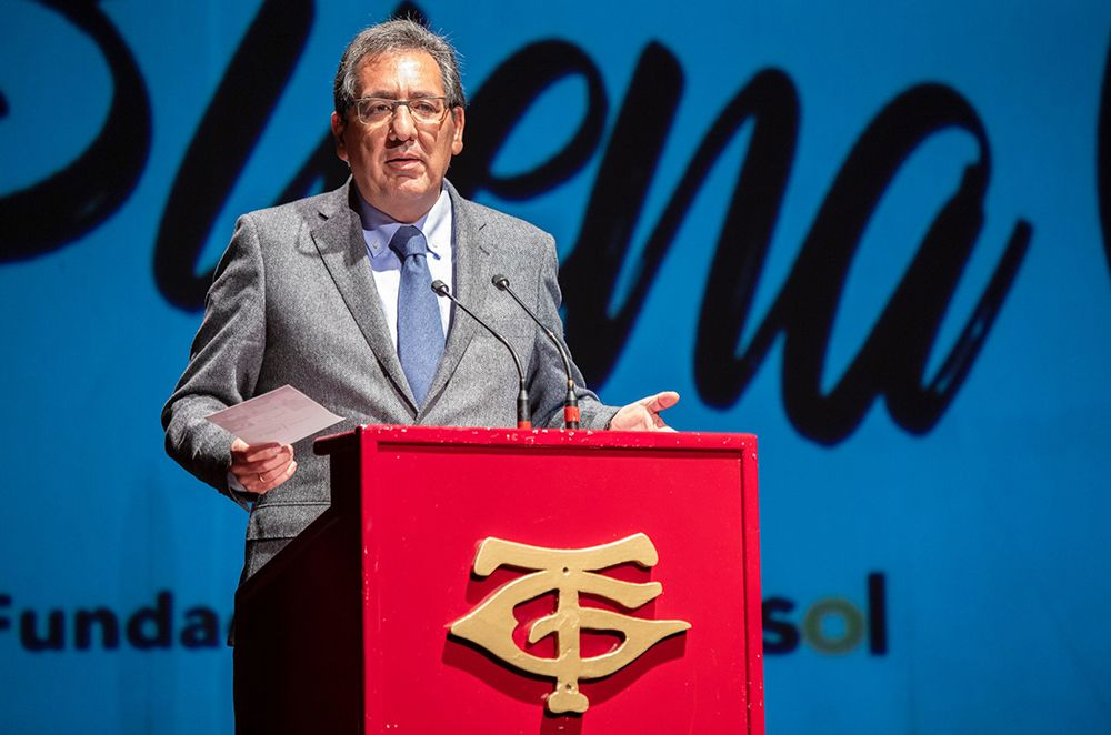 Antonio Pulido en el Gran Teatro de Huelva
