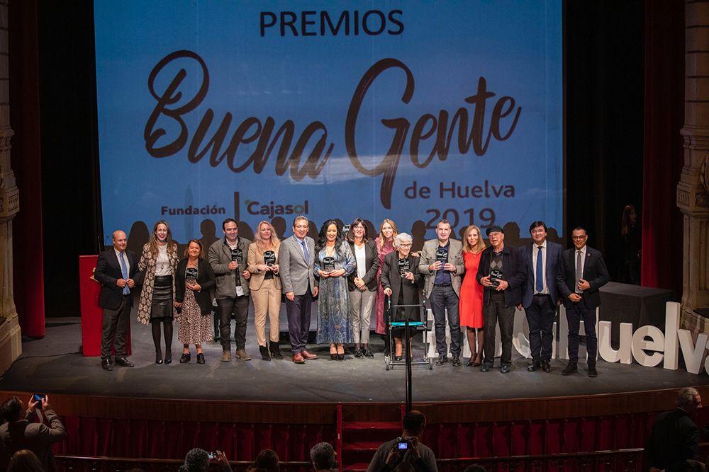 Premios Huelva Buenas Noticias - Fundación Cajasol