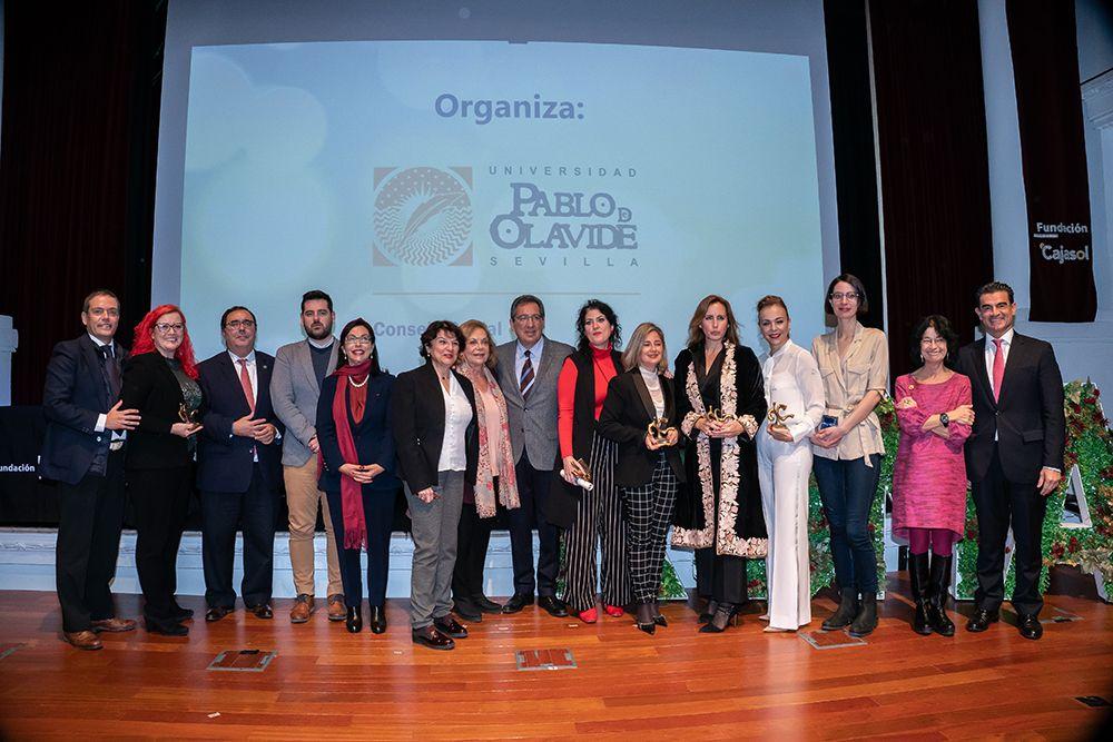 Foto Premios Roma de la UPO en Fundación Cajasol