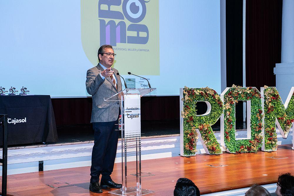 Antonio Pulido da la bienvenida a Fundación Cajasol