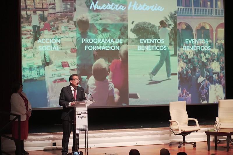 Presentación de Gala Andaluces Compartiendo