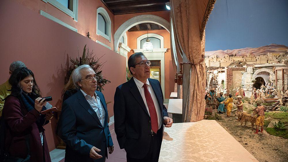 Presentación del Belén de Cajasol