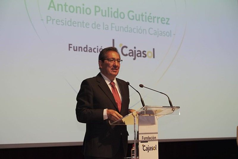 Antonio Pulido en la VII Gala Andaluces Compartiendo