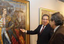 Visita a la exposición 'Juan Hidalgo Moral. Retrospectiva' en Córdoba