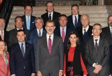 Sus Majestades los Reyes visitan la Fundación Cajasol