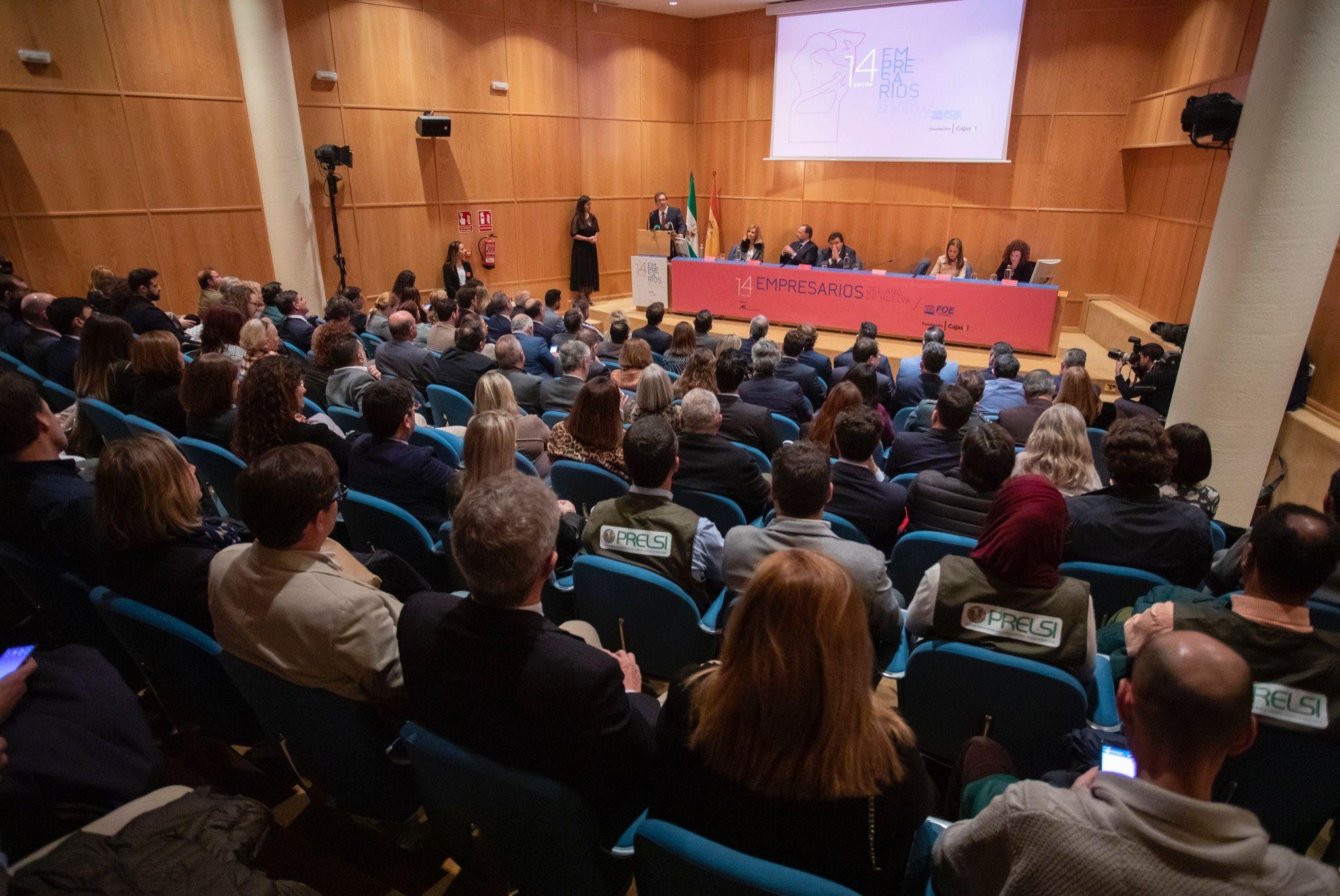 Entrega de los XIV Premios Empresarios del Año de Huelva