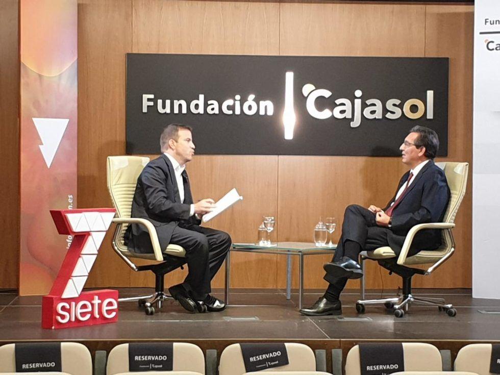 Entrevista con el Presidente de la Fundación Cajasol, Antonio Pulido Gutiérrez