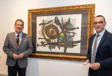 Obra gráfica de la Fundación Cajasol, en la Sala de la Provincia de Diputación de Huelva