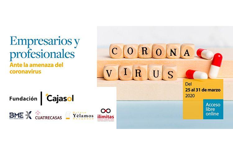 Formación empresarial para el coronavirus en Cajasol