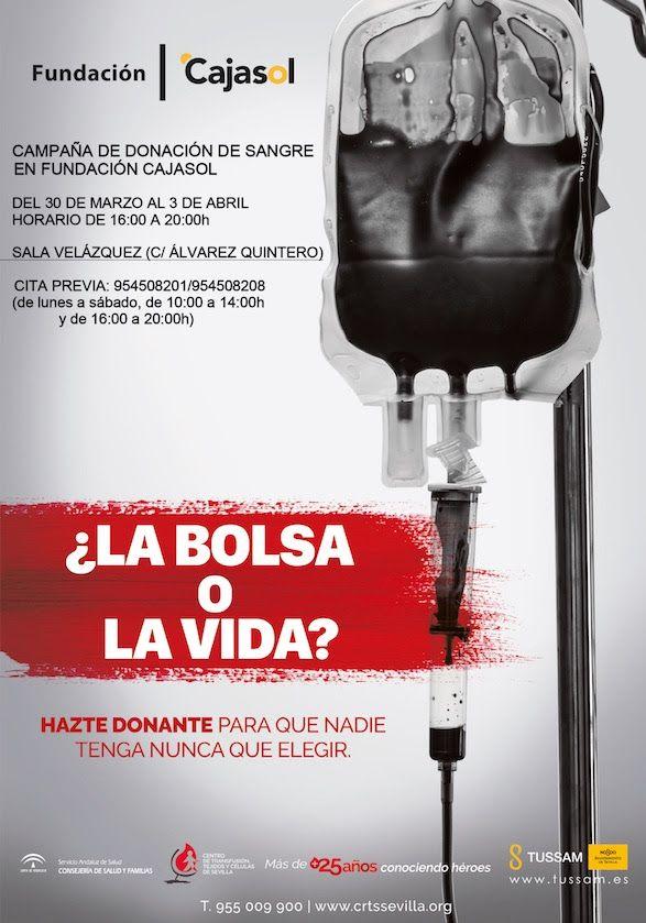 Donación de sangre en Fundación Cajasol