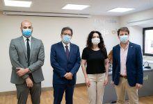 Visita a los voluntarios en la Fundación Cajasol