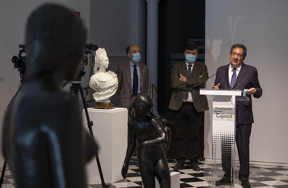 La Fundación Cajasol retoma su actividad cultural en Huelva con la inauguración de 25 SIGLOS. La escultura en la Colección de Arte de la Fundación Cajasol.