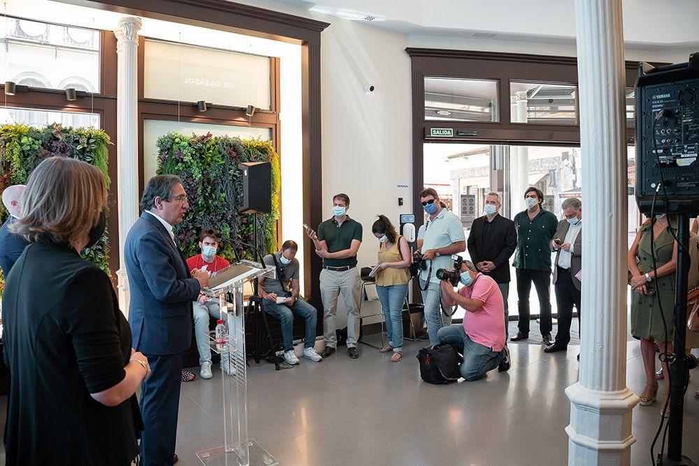 Acción social de Andaluces Compartiendo con Cajasol y la Caixa