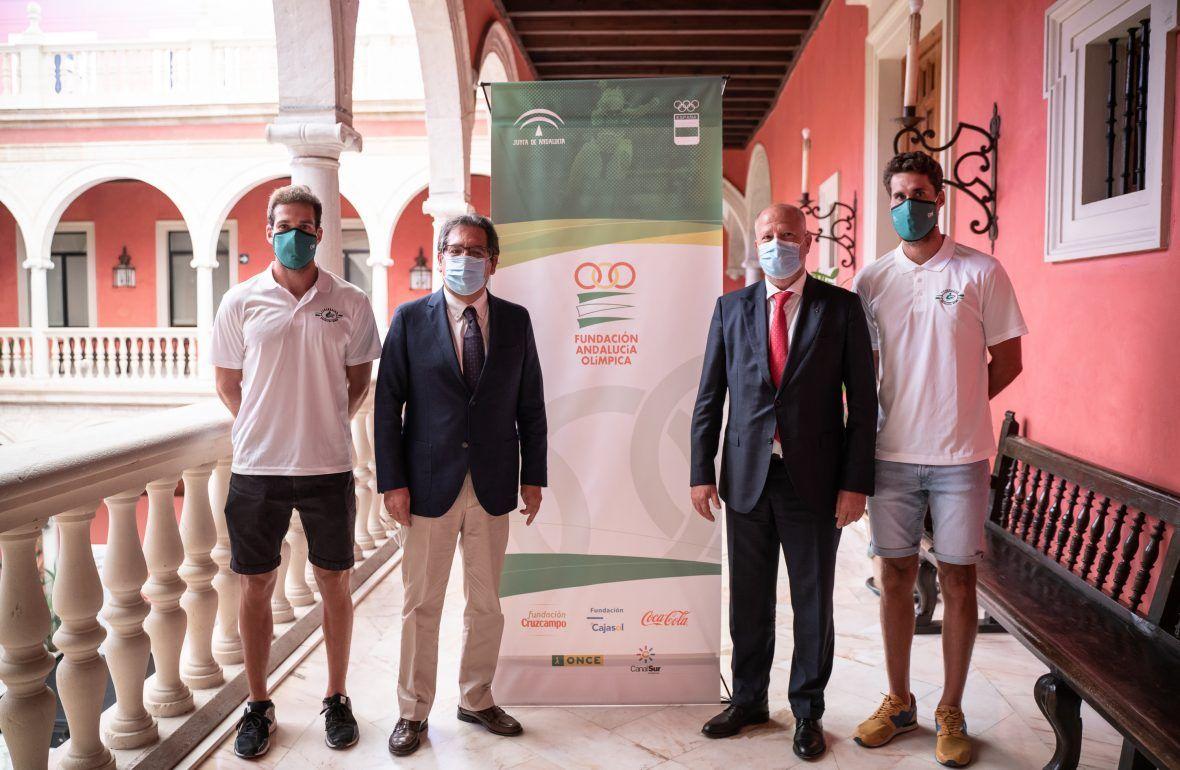 Andalucía Olímpica y Cajasol colaborarán para apoyar el deporte