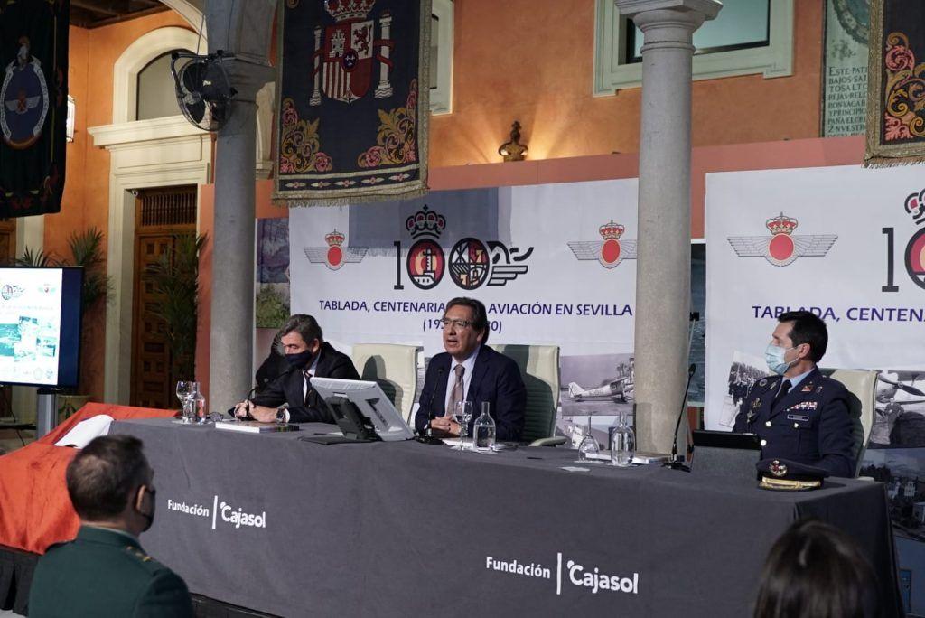 Tablada: la aviación y Sevilla, presentación del libro en Fundación Cajasol