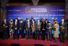 Entrega de los Premios Solidarios Ciudad de Sevilla