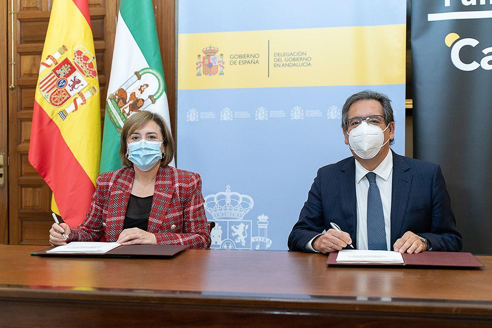 Gobierno y Fundación Cajasol entregan los Premios Menina