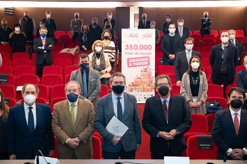 Corriente de solidaridad: 350.000 kilos de ilusión de la Fundación MAS