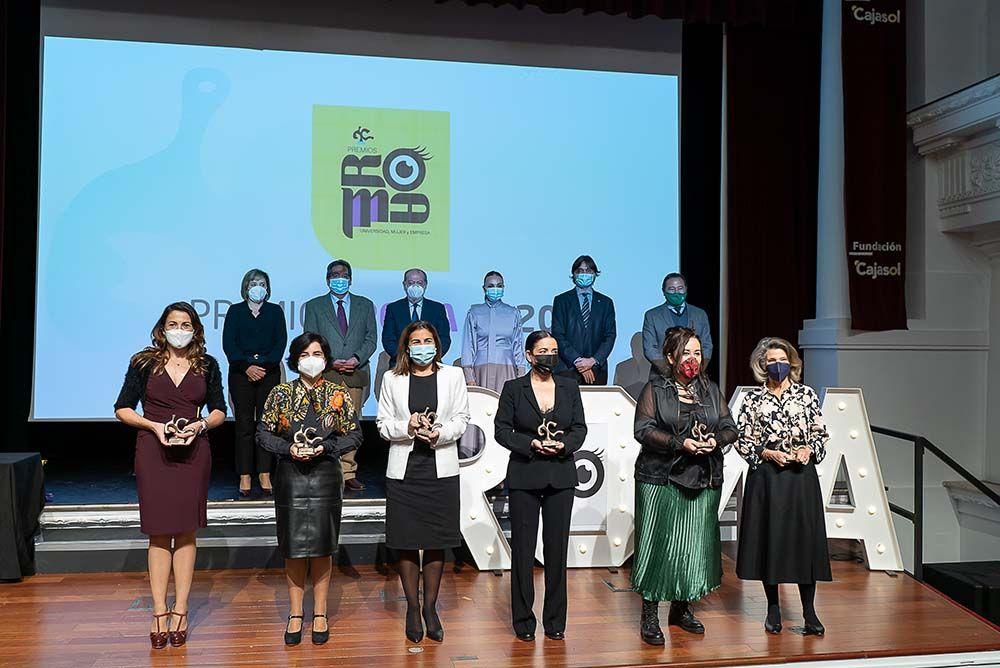Premios Roma en Fundación Cajasol con la Universidad Pablo de Olavide