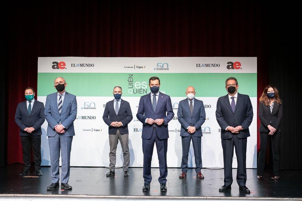 Presentación de Quién es Quién en Andalucía 2020 en Cajasol