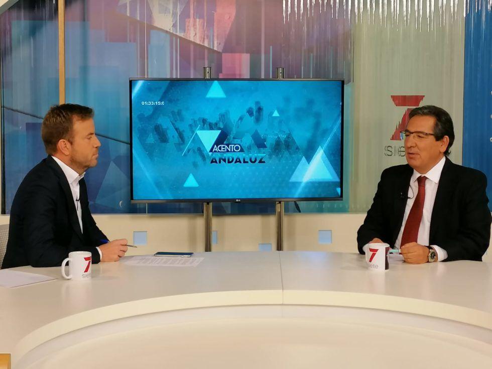 Entrevista en Acento Andaluz, de 7TV Andalucía | Antonio Pulido