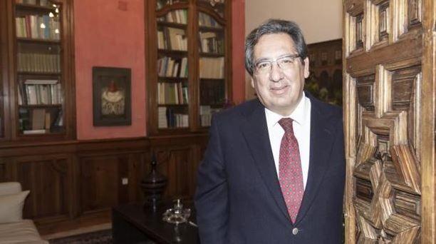 Antonio Pulido - Entrevista con el diario ABC. Fotografía realizada por Vanessa Gómez.
