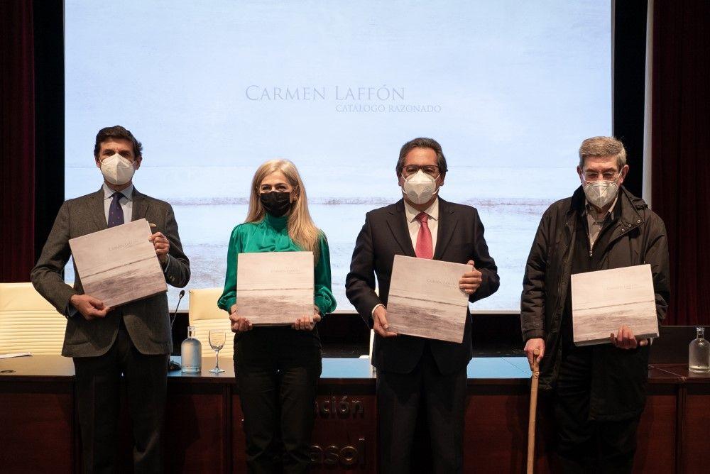 Consejería de Cultura y Fundación Cajasol presentan Catálogo Razonado de Carmen Laffón