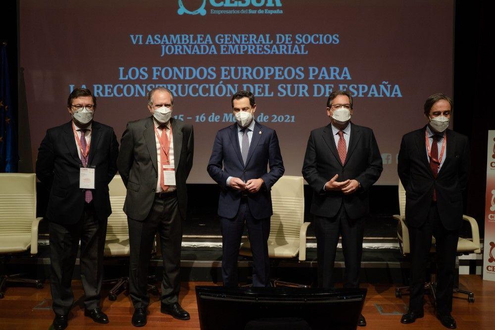 """""""Los Fondos Europeos para la reconstrucción del sur de España"""", en Cajasol"""