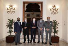 Encuentros Informativos Europa Press con Juan Carlos Campo, Juan Marín y Lorenzo del Río
