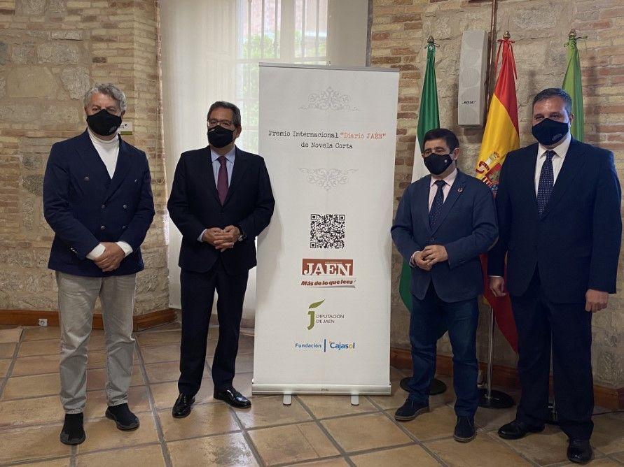 Premio Novela Corta Jaén con Diputación de Jaén y Diario Jaén
