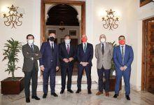 Encuentro Informativo de Europa Press con Javier Imbroda y Luis Rubiales