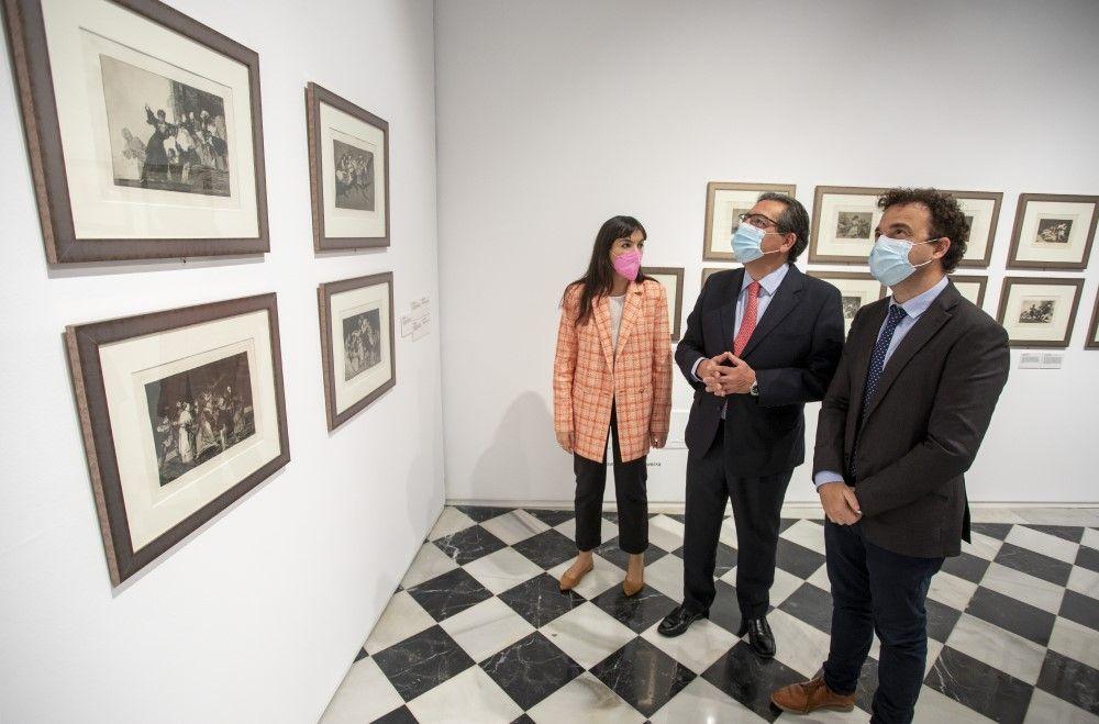 Las mujeres de Goya, en Fundación Cajasol Huelva