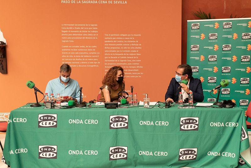 """Onda Cero: programa """"Más de uno Sevilla"""" en Fundación Cajasol"""