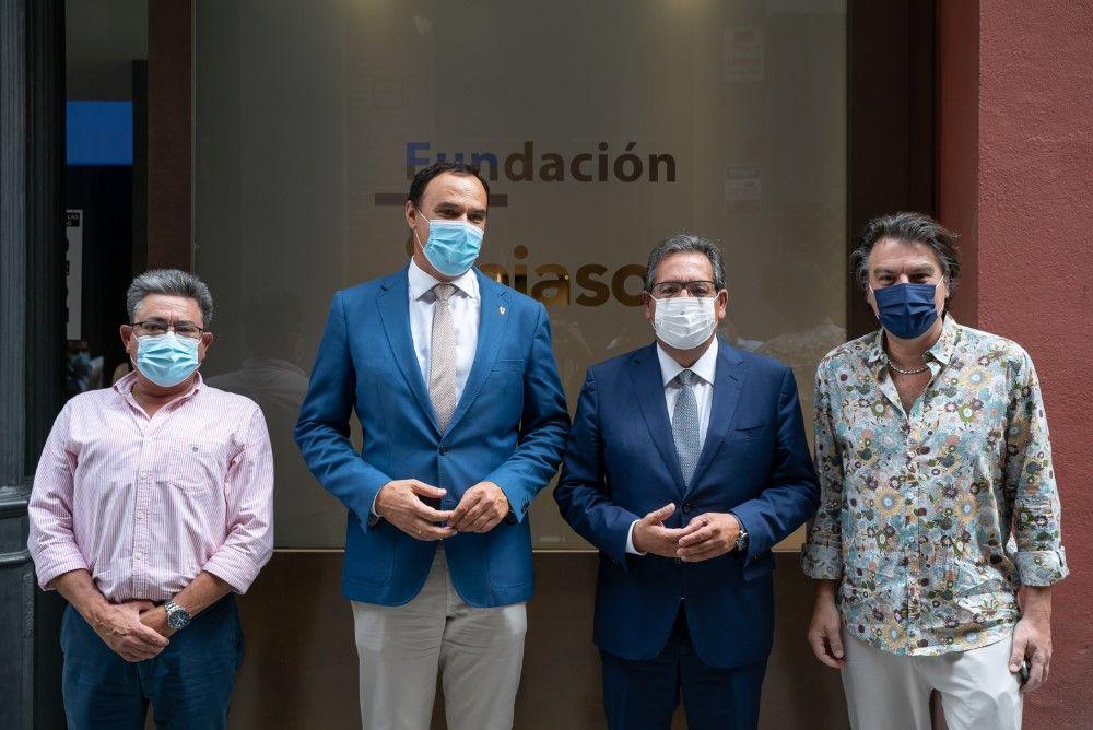 Presentación La Roda del viento en Fundación Cajasol