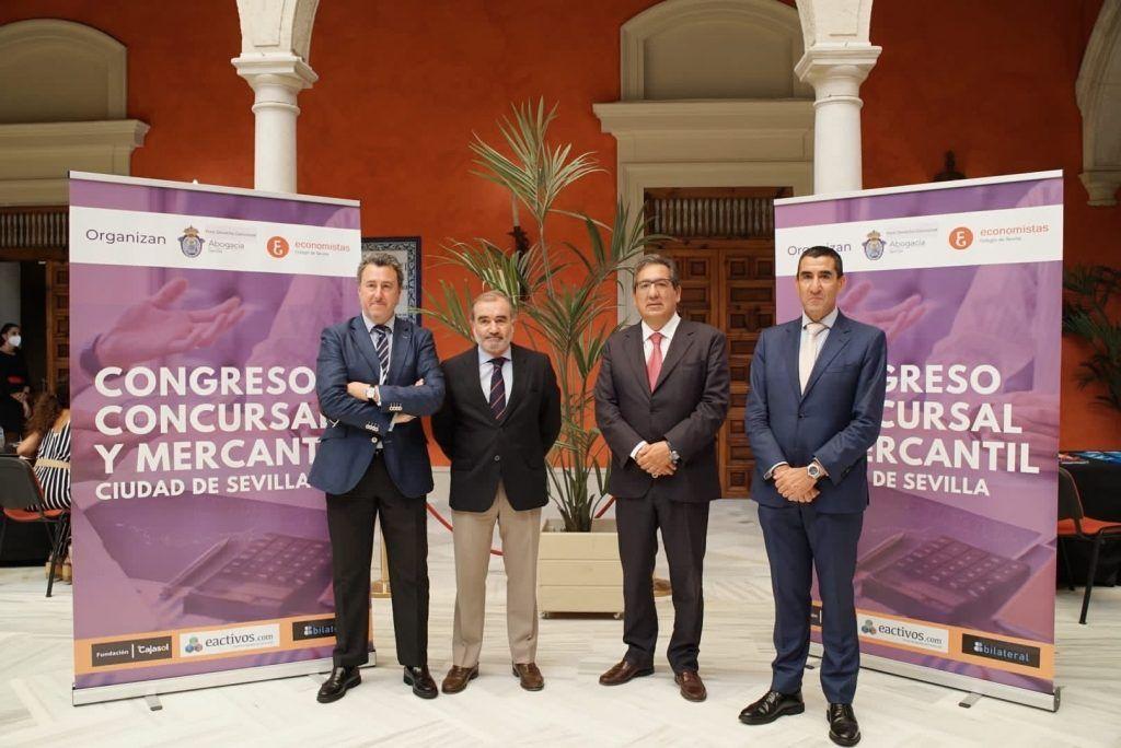 Congreso Concursal y Mercantil Ciudad de Sevilla en Cajasol